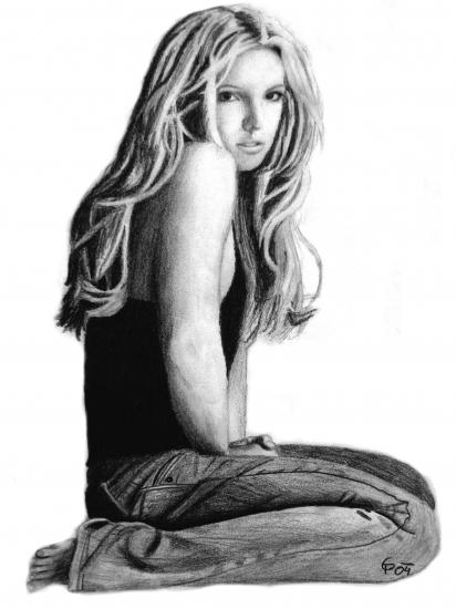Britney Spears por kitsunegari16